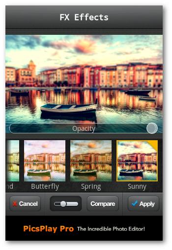 aplicando efectos miniture Cursos fotografía Barcelona