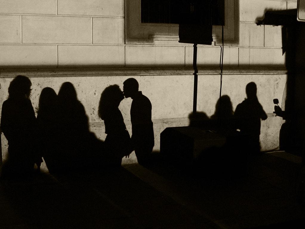 Dibuja tus propias sombras.  Cursos fotografía Barcelona