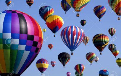 Cómo hacer fotos de globos aerostáticos